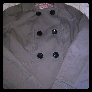 Old Navy peacoat/stylish light jacket